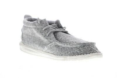 Hey Dude Conrad 111663901 Gray Shoes