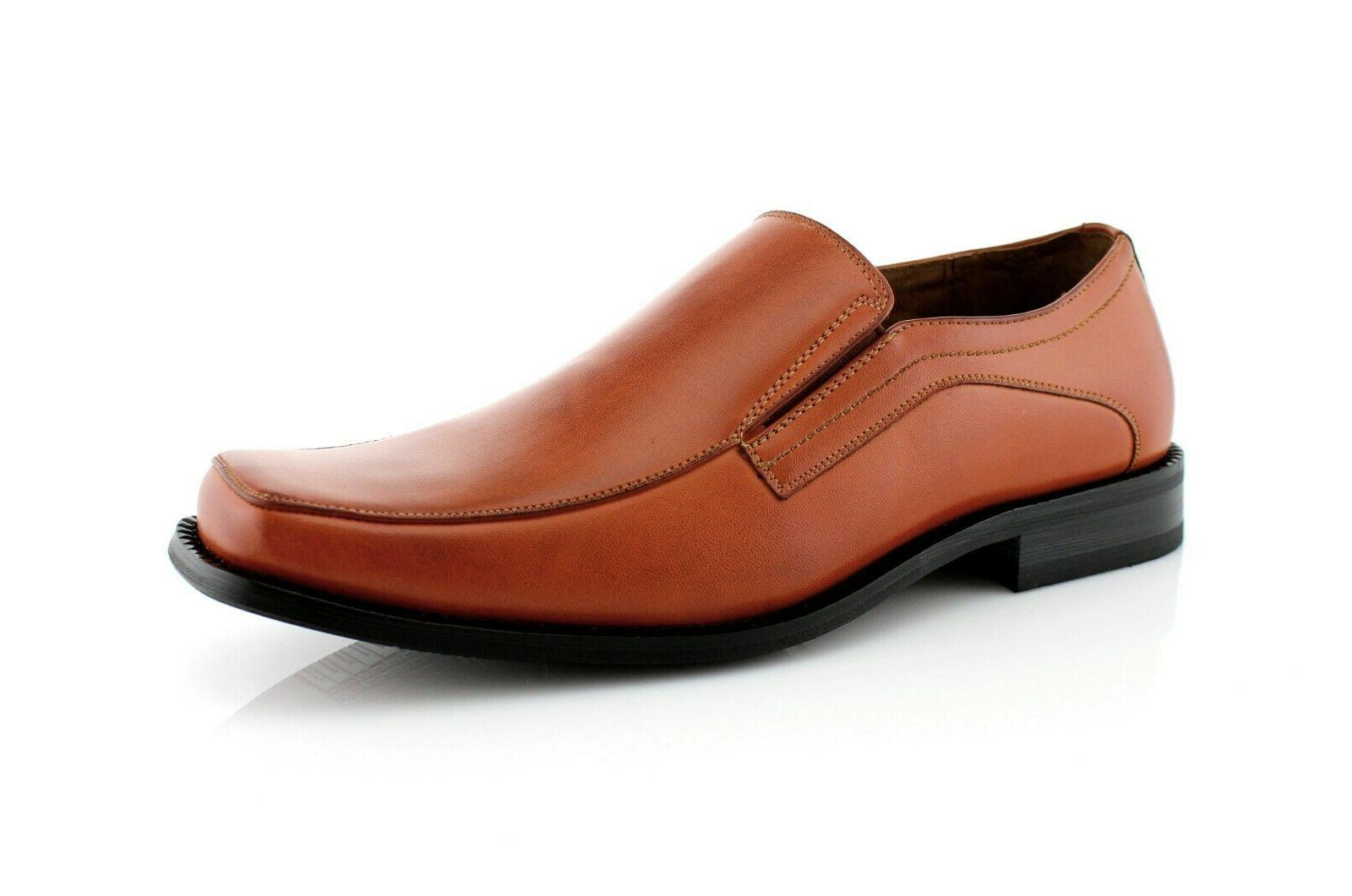 Men's Leather Dress Shoes Formal Loafers