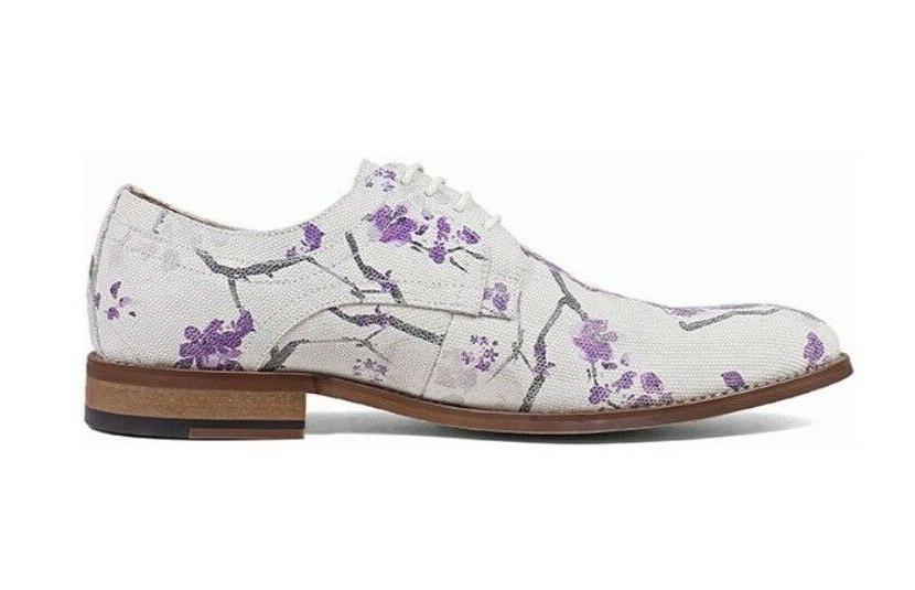 Stacy Men's Oxfords Lavender Multi Shoes 25164-541
