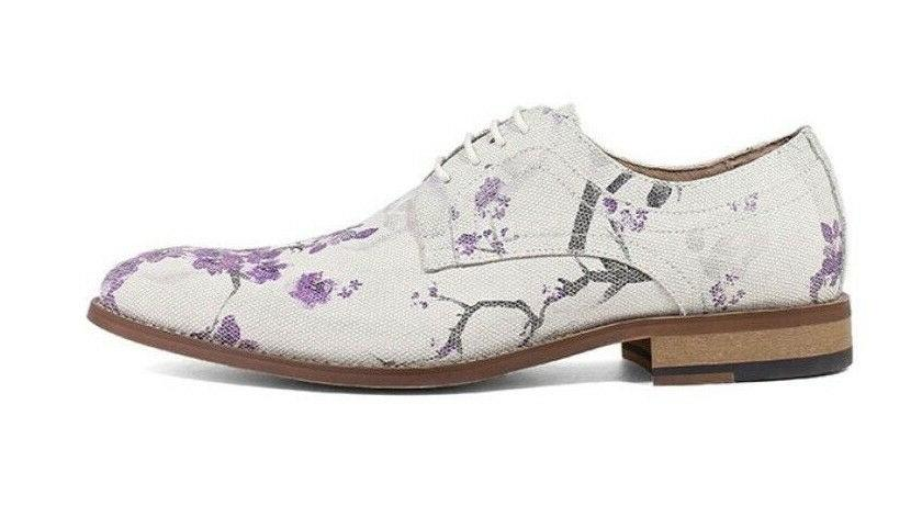 Stacy Adams Dandy Oxfords Lavender Dress Shoes