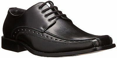 Stacy Adams DEMILL Youth Boys Black Lace Up Oxfords Dress Sh