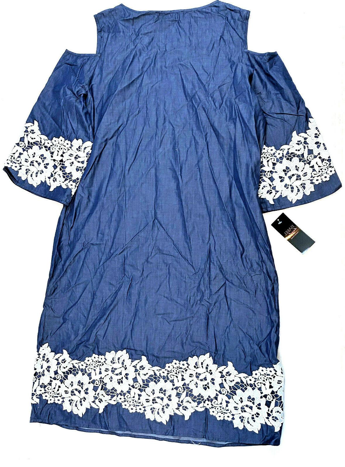 Isabel Hayley Lace Blue, Size $68.00