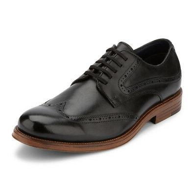 dockers mens hanover genuine leather dress brogue