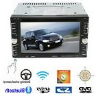 "Double 2Din 6.2"" Car Stereo DVD CD MP3 Player HD In Dash Blu"
