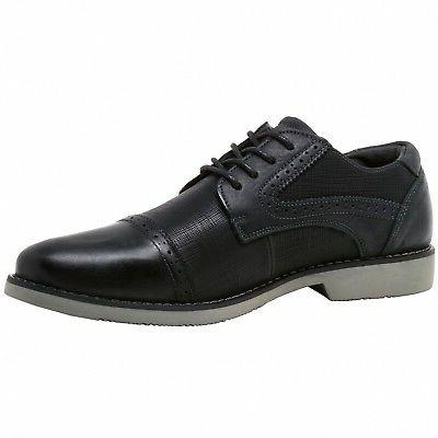 Double Swiss Leather Cap Shoes