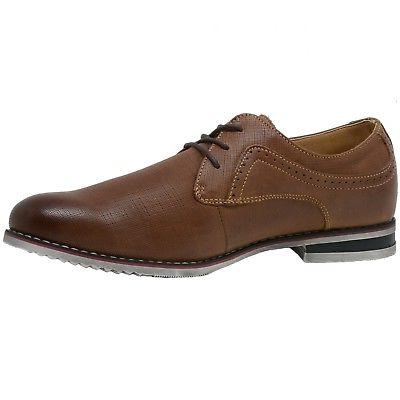 Double Diamond by Swiss Saffiano Lace-Up Oxford