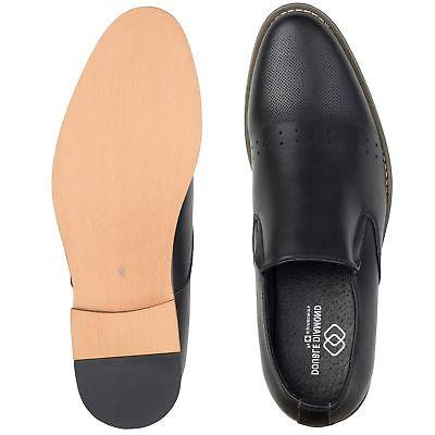 Alpine Swiss Diamond Mens Oxford Slip-on Dress Shoes