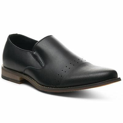double diamond mens leather loafers oxford slip