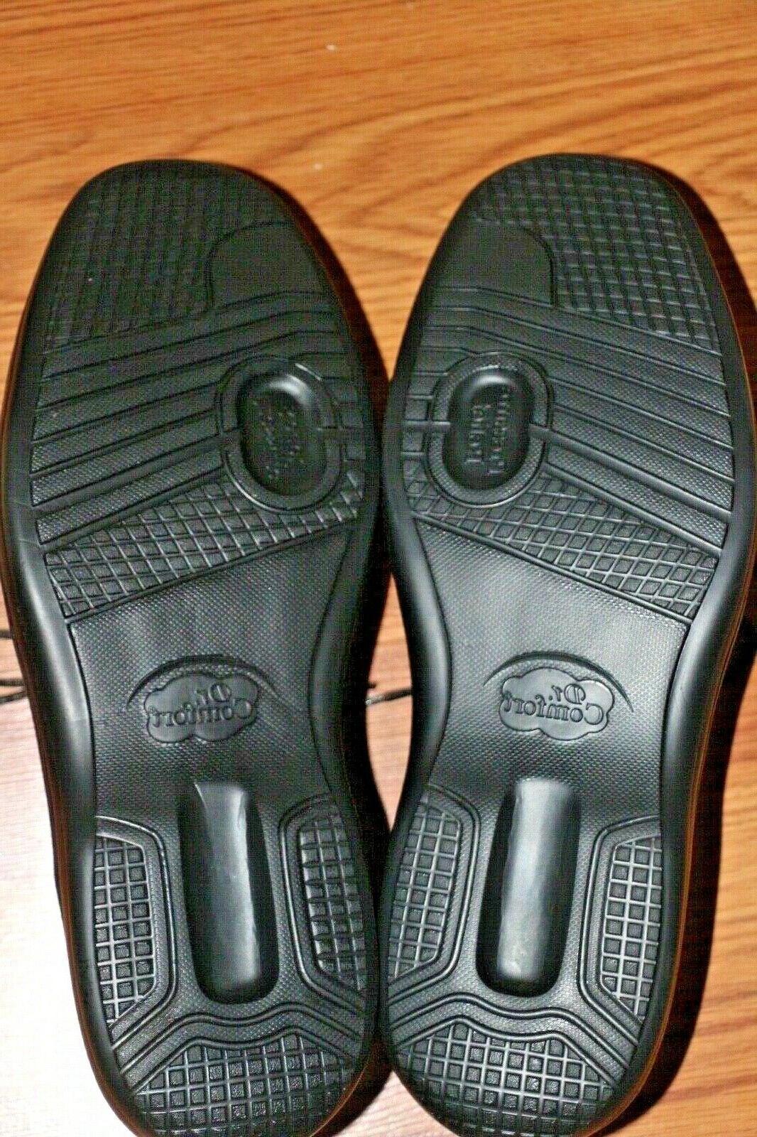 Dr. Men's Dress Shoes 12XW Classic Black Lightweight