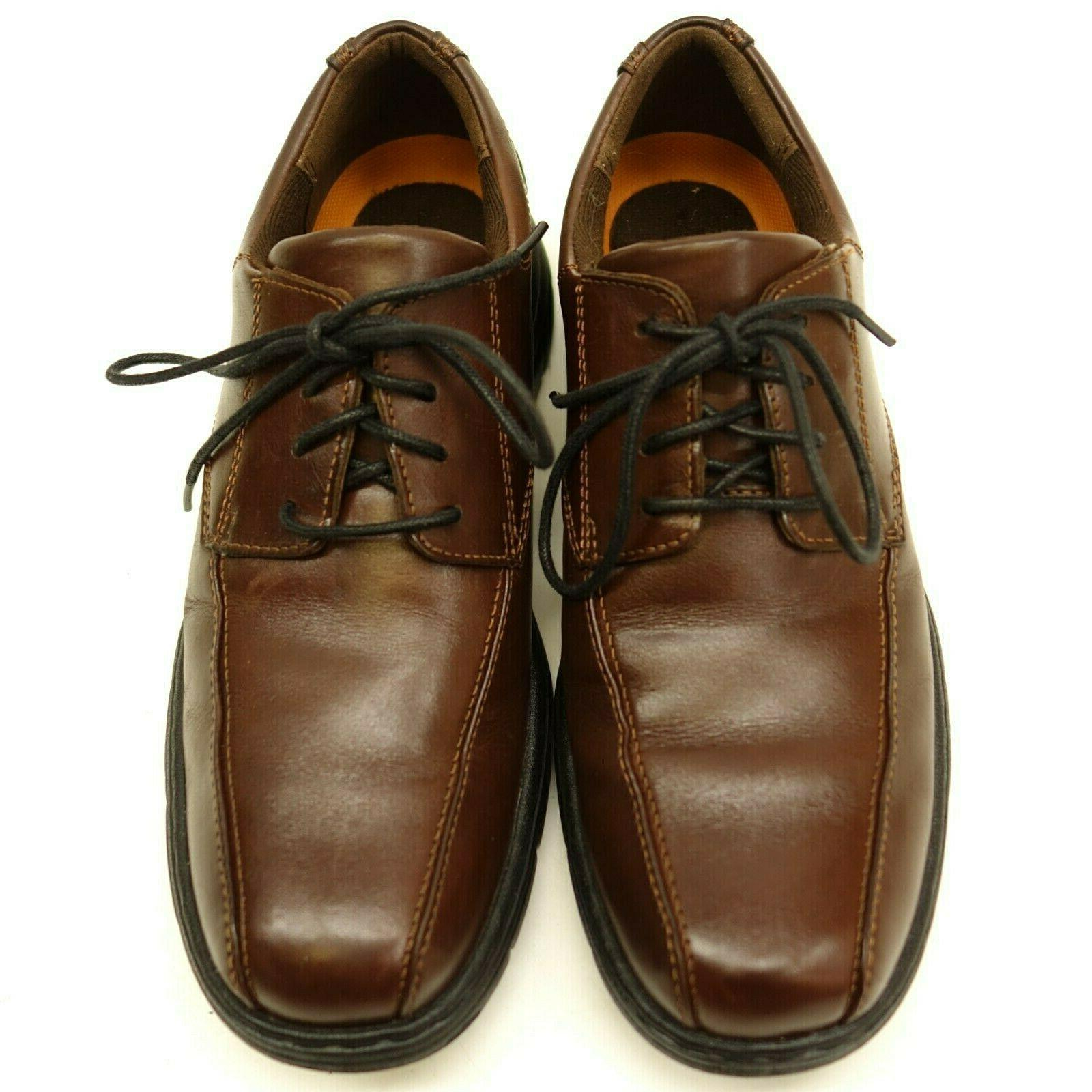 New US Brown Smooth Leather Mens