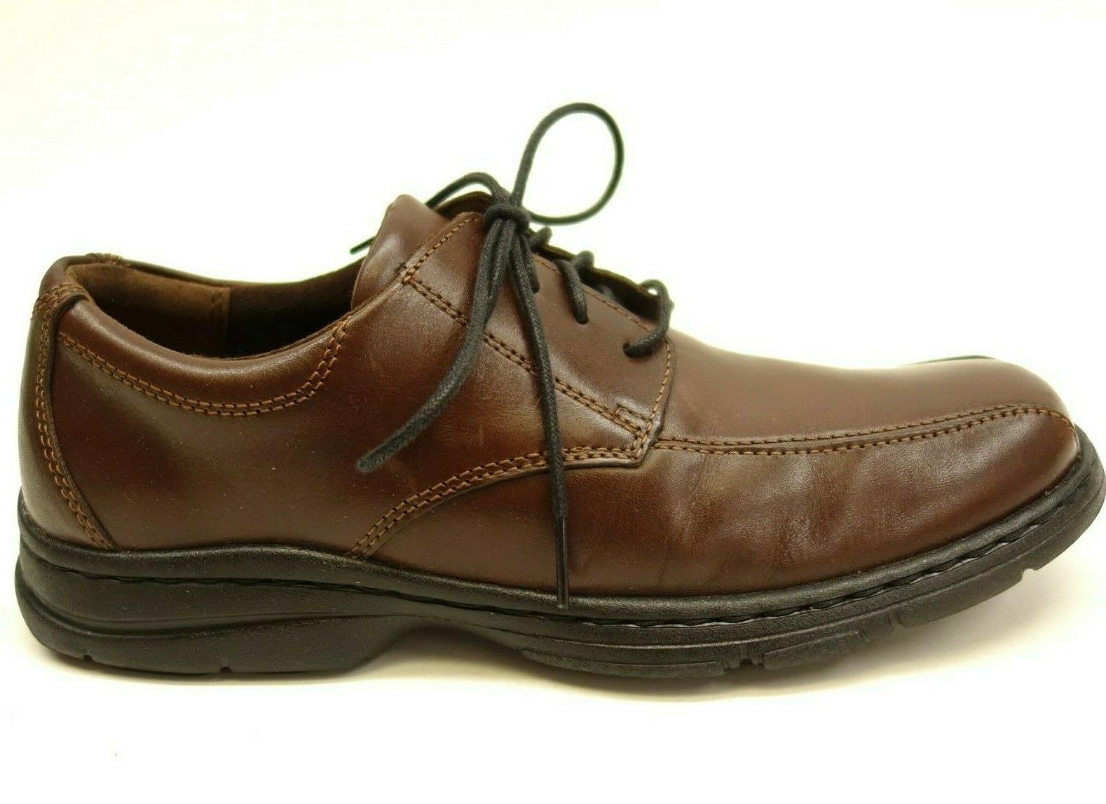 New US 8 Brown Smooth Mens