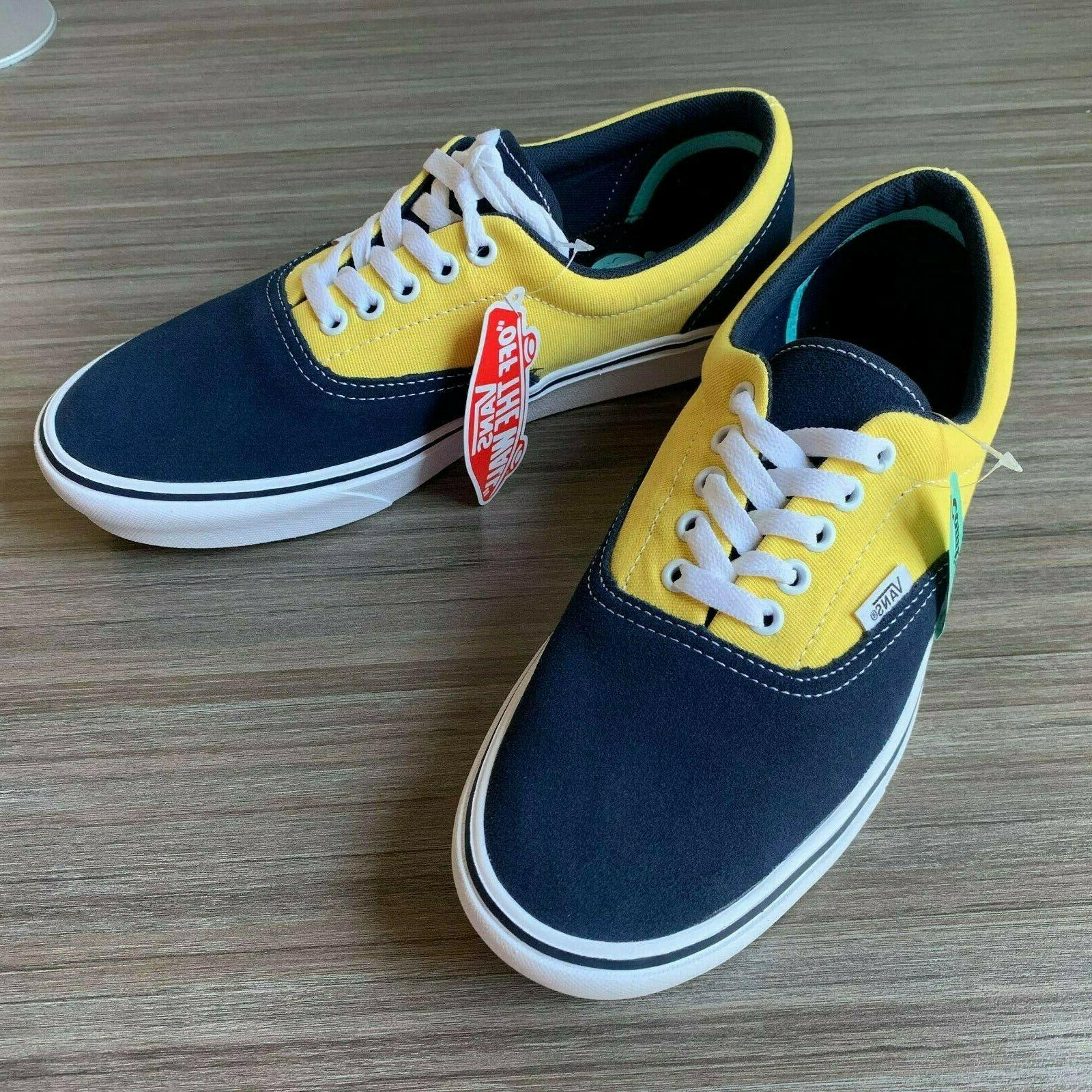 VANS ERA SHOES MEN'S size DRESS BLUE