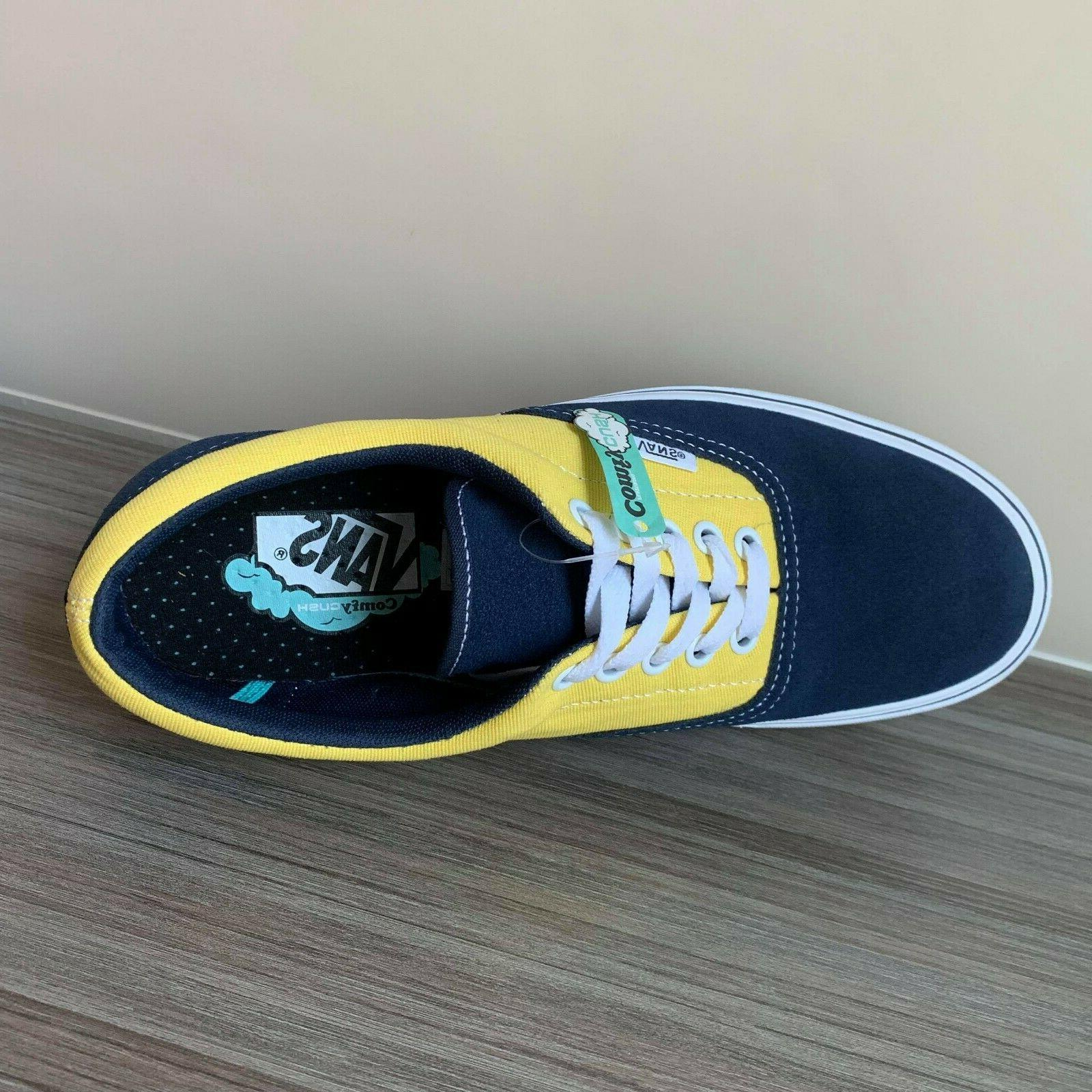 VANS COMFYCUSH SKATE SHOES DRESS BLUE