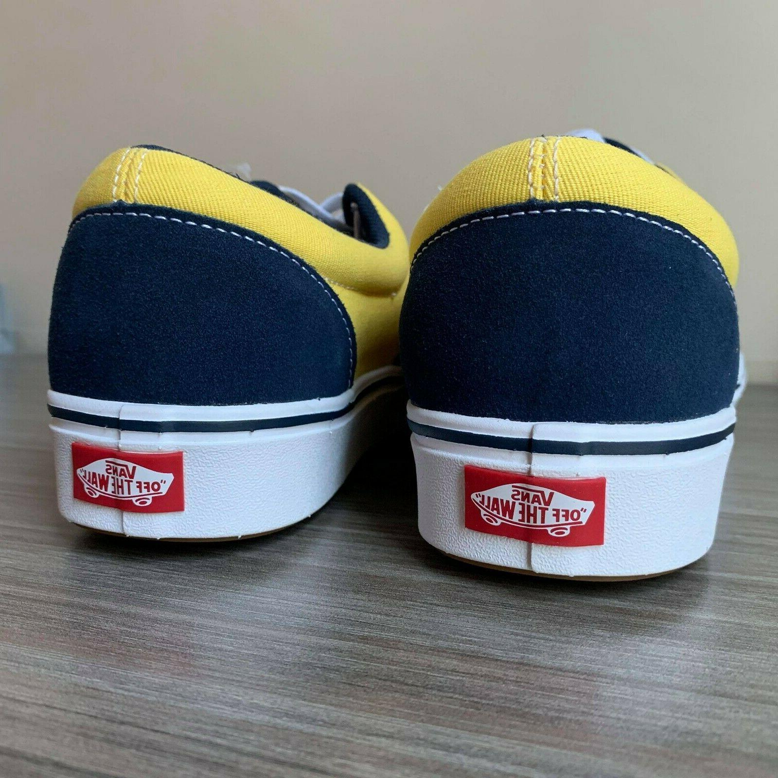 VANS ERA COMFYCUSH SHOES size 12 DRESS BLUE