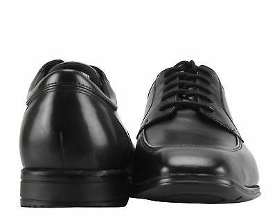 Rockport Fairwood Maccullum Moc Toe Black Men's Shoes
