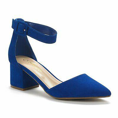 DREAM Low Heel Party Work Comfort Pump Shoes