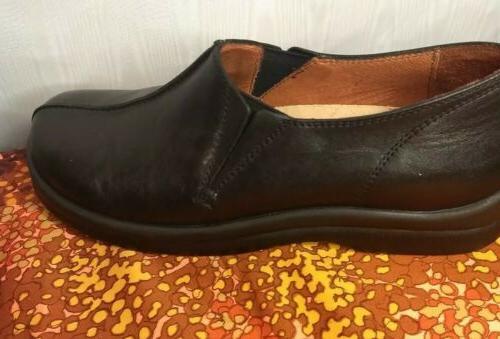 Footprints Black Oxford Dress Mens