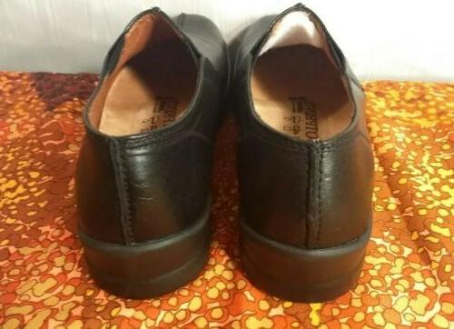 Footprints By Birkenstock New Black Loafers Oxford Dress