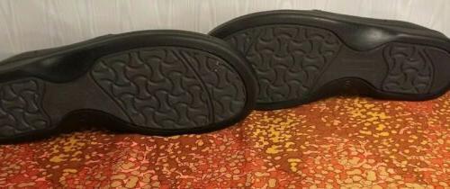 Footprints Black Leather Dress