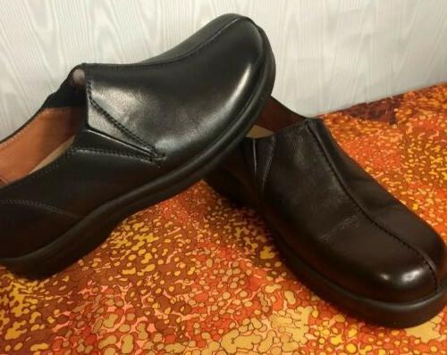 Footprints Birkenstock New Black Leather Dress Shoe