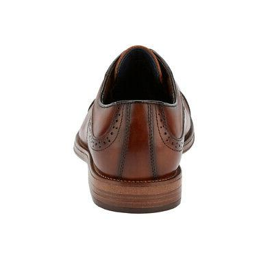 Mens Tinton Leather Dress Cap Toe Oxford Shoe