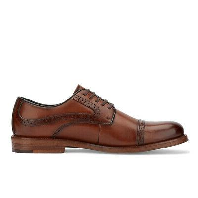 G.H. Mens Tinton Genuine Leather Dress Oxford