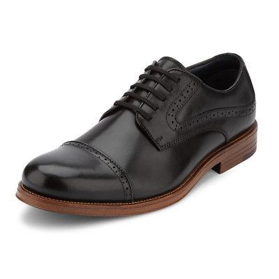 G.H. Bass & Co. Mens Tinton Genuine Leather Dress Cap Toe La