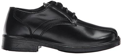 Deer Lace-Up Dress Shoe ,Black,11.5 M US Kid