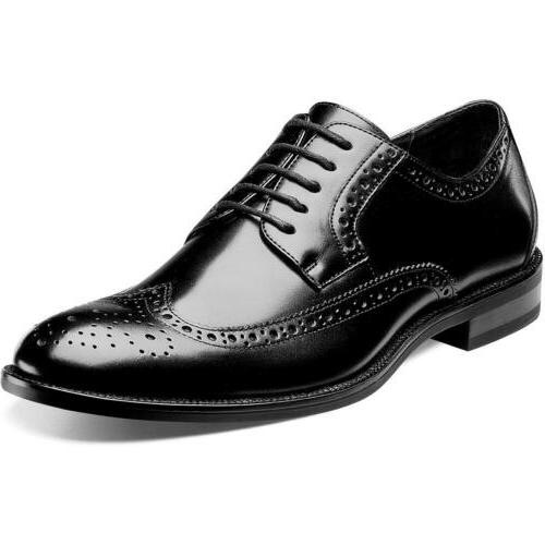 garrison wide wing tip oxford