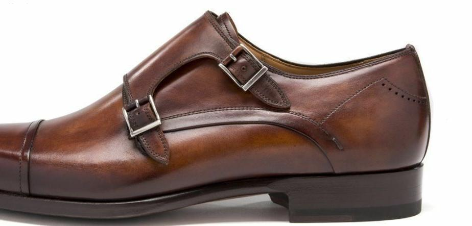 Genuine Leather Buckle Dress Shoes Handmade Oxfords Casual F