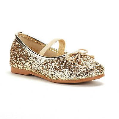 DREAM PAIRS Girl's Kid Mary Jane Ballerina Flat Shoes