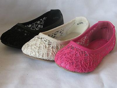 Girls Flats Lacey  TODDLER  Flower Girl Pageant Dress Shoes