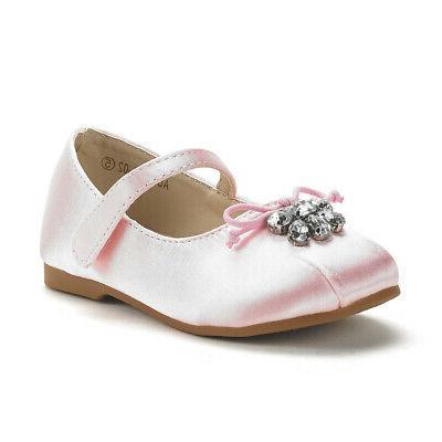 DREAM Girls Kids Mary Jane Ballerina Flat