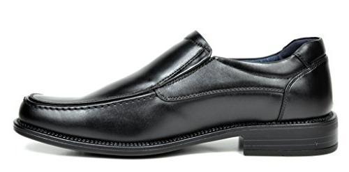 Bruno Black Leather Toe Dress -