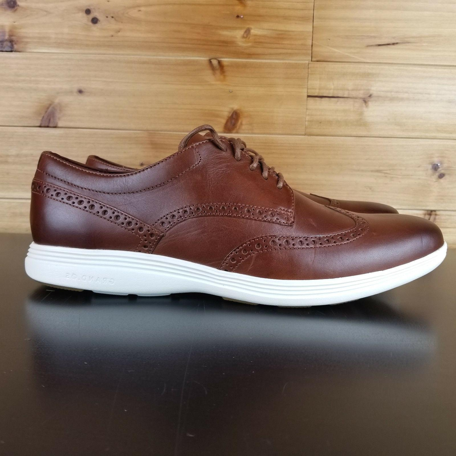 Cole Haan Grand Tour Wing Ox Woodbury Ivory C29414 Mens Dres