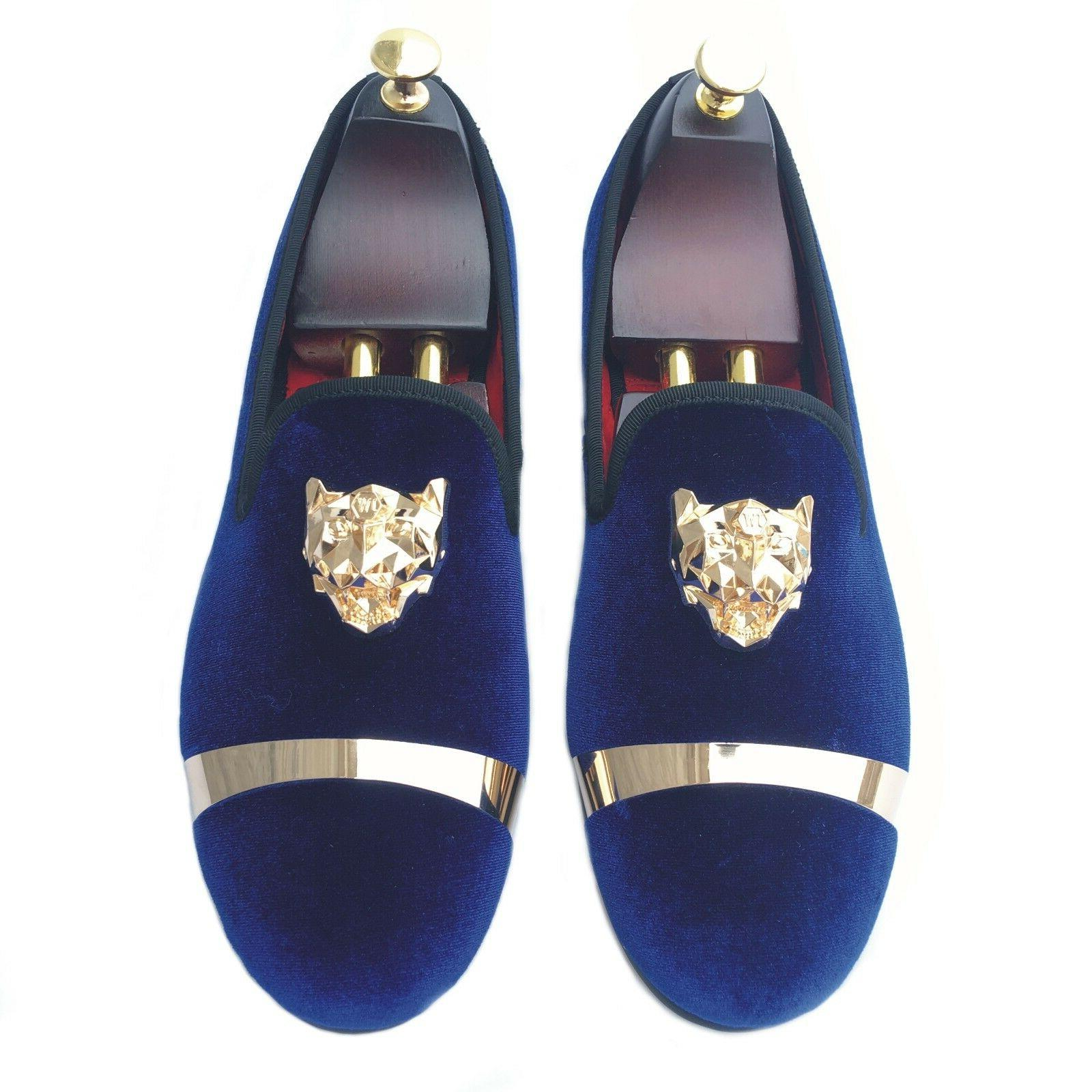 Handmade Mens Slippers with Wedding Dress Shoes