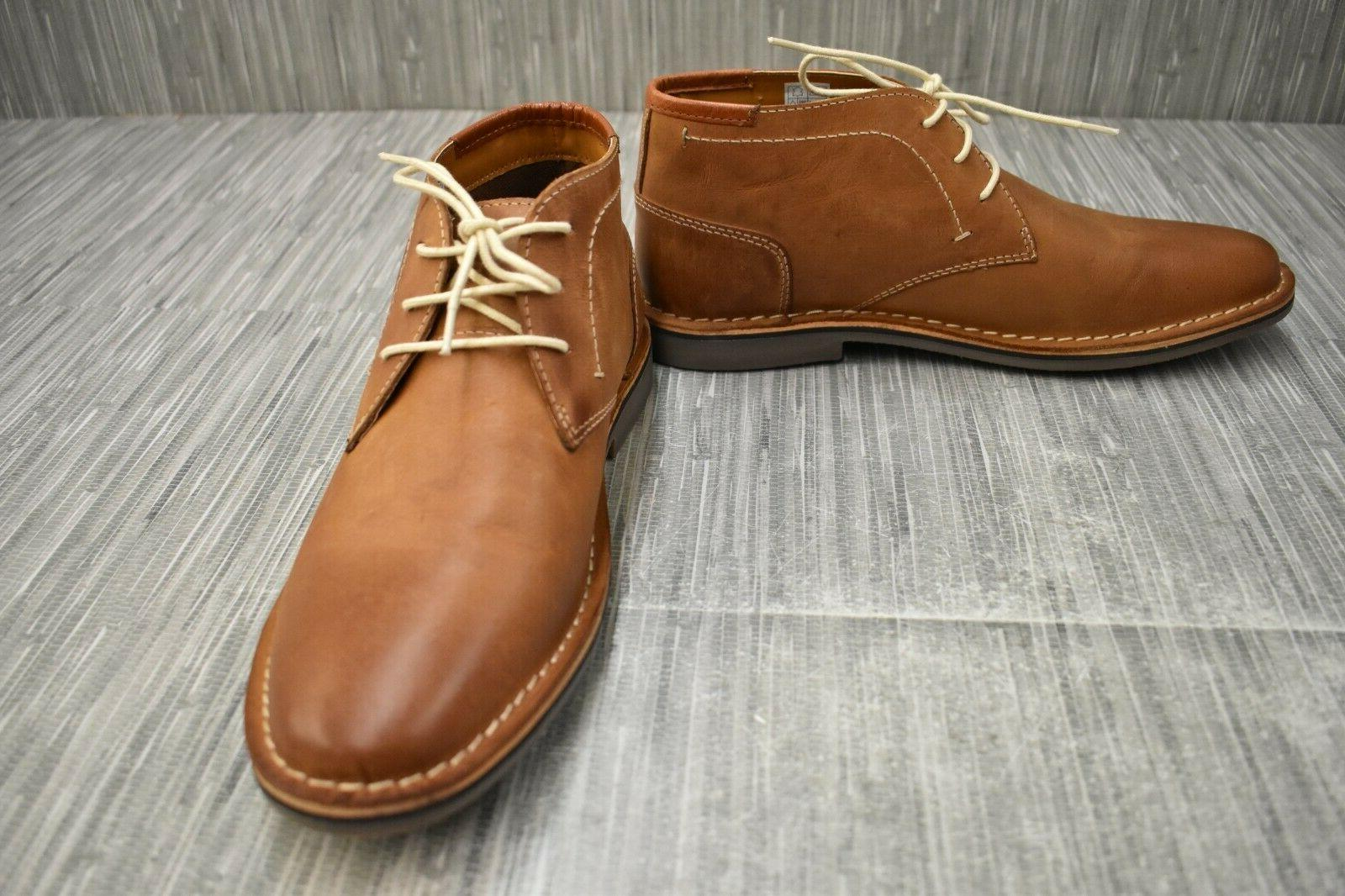 3ab4fb4fba2 Steve Madden Hestonn Leather Chukka Boots
