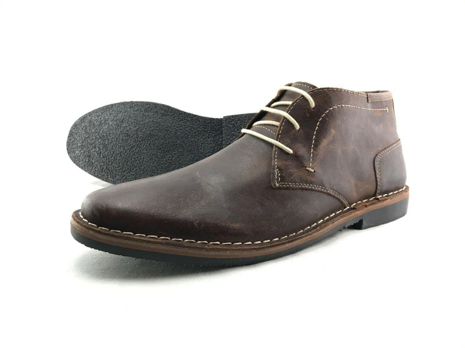 Steve Madden Hestonn Men's Brown Leather US Shoes
