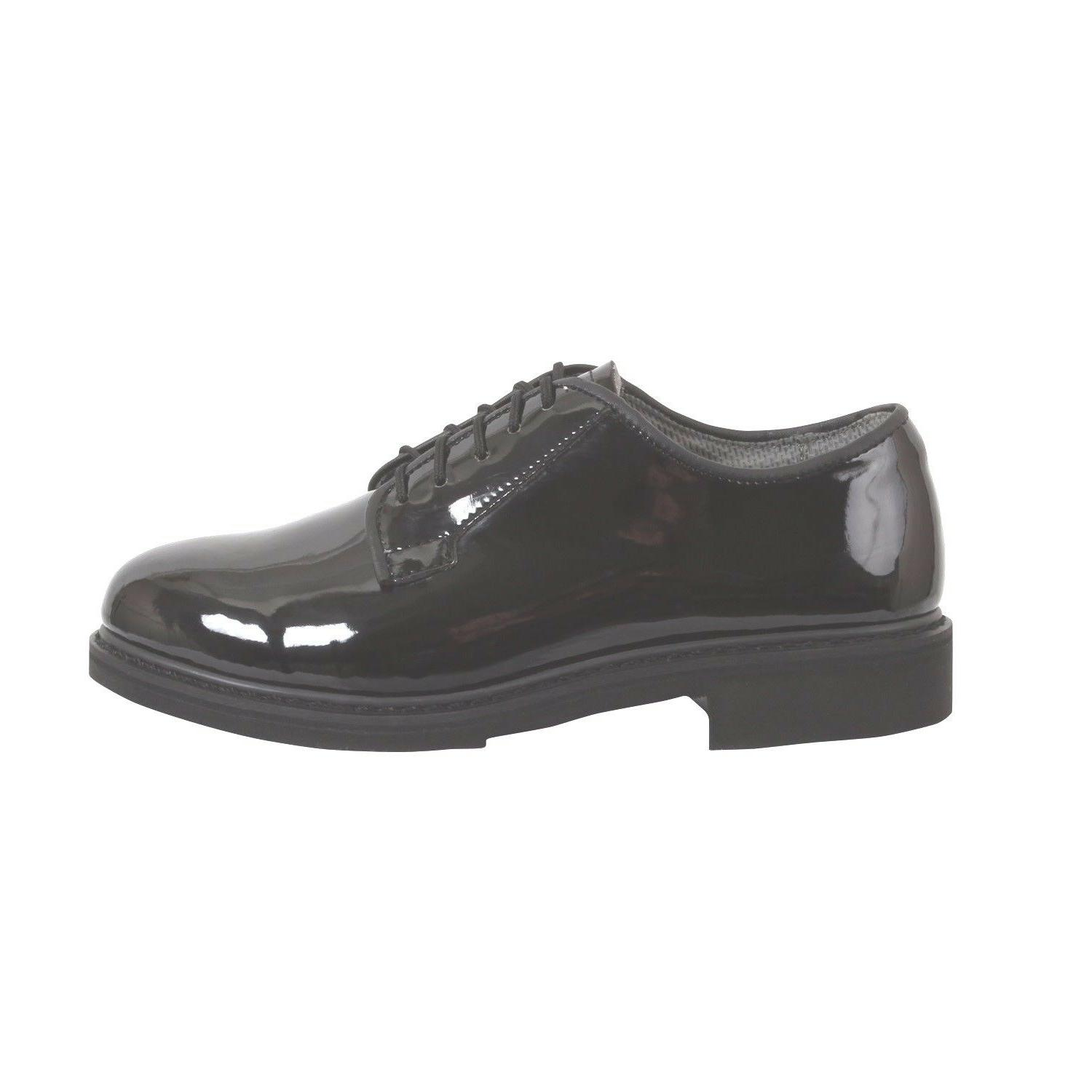 High Oxford Dress Shoes Army 3-15