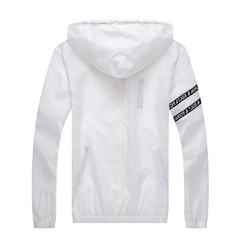 Toimothcn Zipper Jacket Lightweight Fit