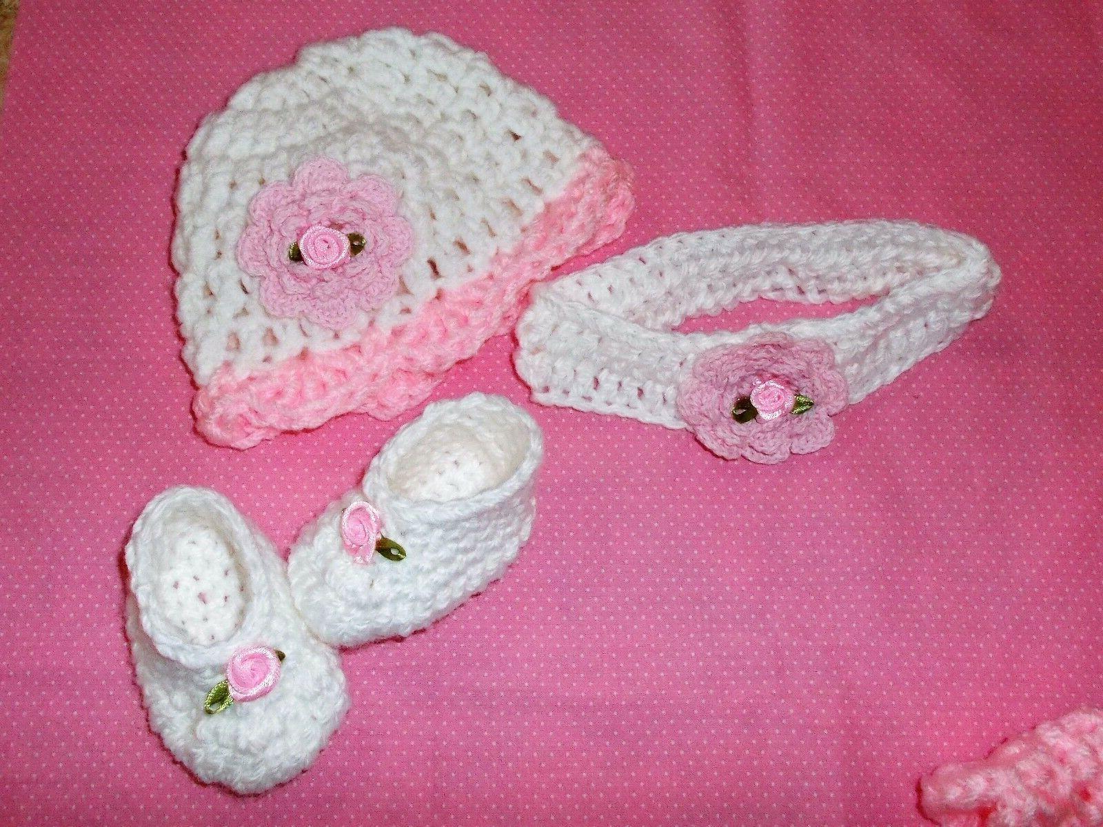 Handmade baby Headband shoes& hat,Rocky