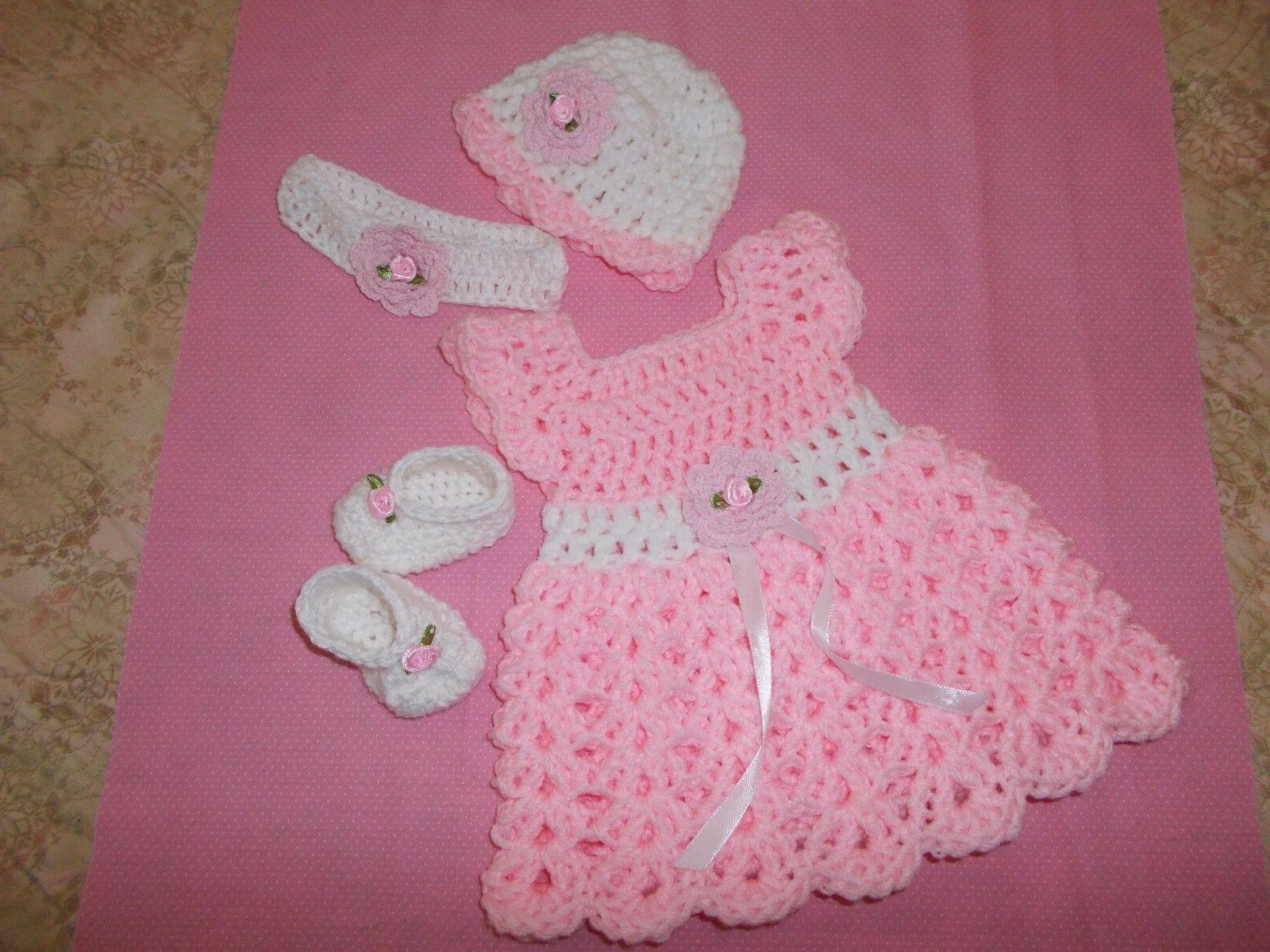 Handmade Crochet baby girl shoes& hat,Rocky Mountain
