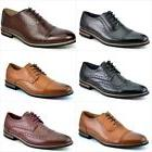 Italy Prince Men's Classic Modern Oxford Wingtip Lace Dress