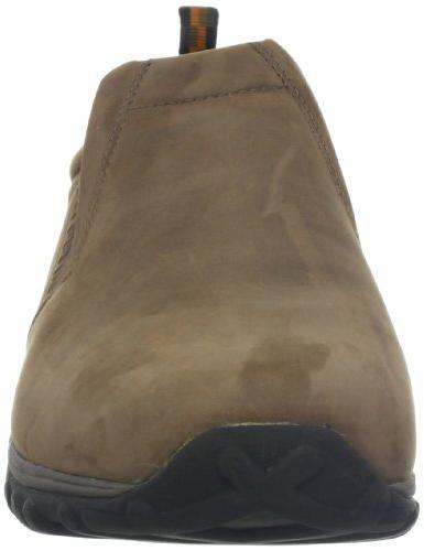 Merrell Jungle Moc Nubuck Slip-On Shoe,Brown W