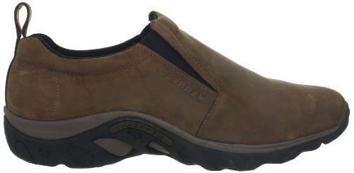 Merrell Nubuck Slip-On Shoe,Brown Nubuck,8 W