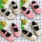 Kids Toddler Girl Party Pricness Dress Shoes Leather Moccasi