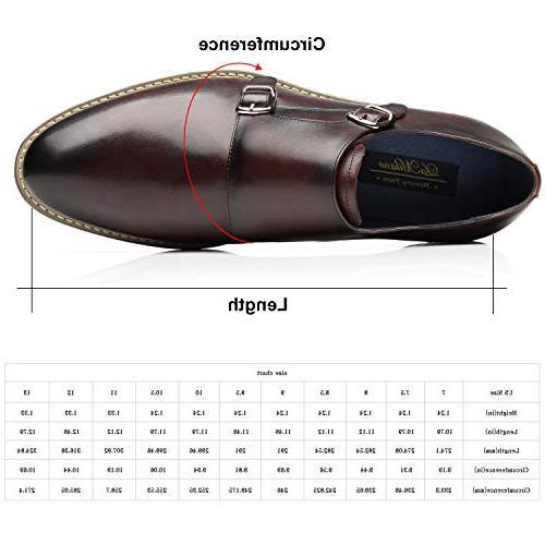 La Mens Double Oxford Slip-on Business Shoes Men
