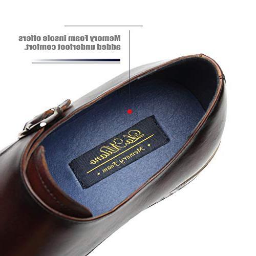 La Milano Leather Double Slip-on Loafer Business Men