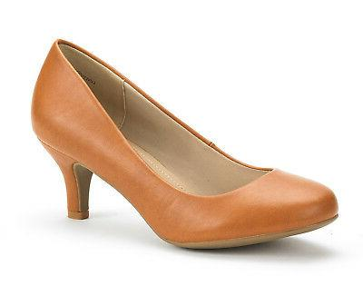 DREAM PAIRS LUVLY Womens Bridal Party Pumps