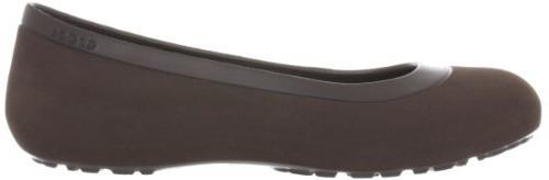 Crocs Flat,Espresso/Espresso,9 M
